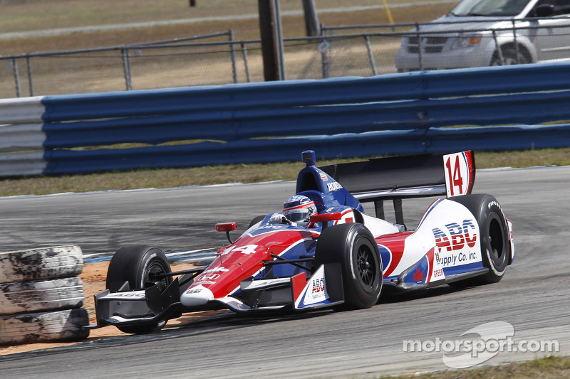 Sato leads Honda field in practice at St. Petersburg