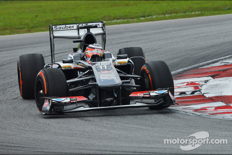 Weather quick change affected Sauber on qualifying for the Malaysian GP