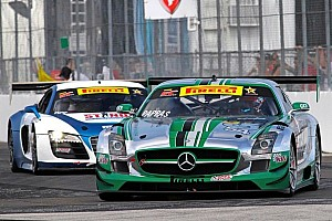 From the US to Japan  the Mercedes SLS AMG GT3 starts on five continents