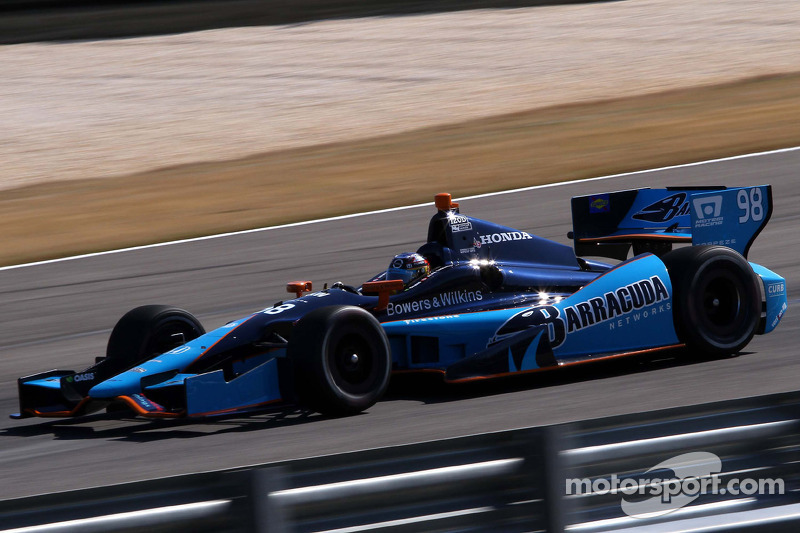 Tagliani and Vautier pace fast friday for Honda at Barber