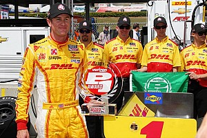 Hunter-Reay grabs Barber Motorsports Park pole in record time
