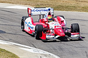IndyCar Qualifying report Wilson robbed of Barber pole chance