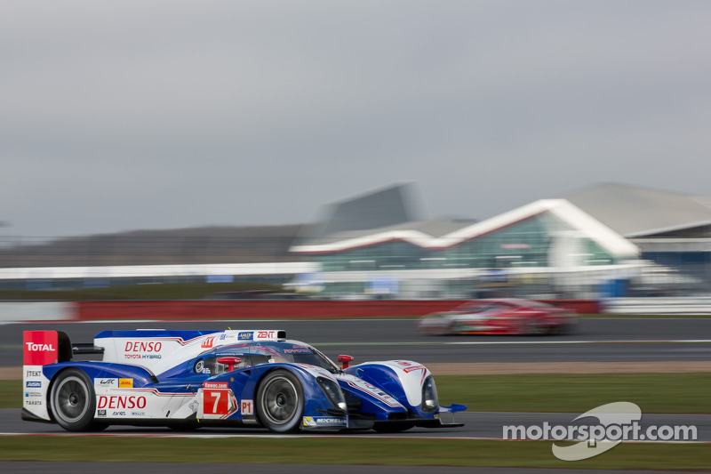 Toyota Racing begins season with podium finish at Silverstone