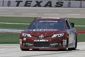 NASCAR Sprint Cup Race report Reutimann finishes 24th at Texas Motor Speedway
