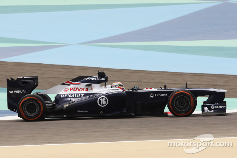 Williams completed tests at Sakhir on Friday practice