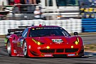 Risi Competizione Ferrari 458 Italia was third in GT class practice in Long Beach