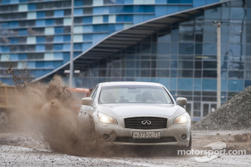 Vettel first to experience new Sochi circuit in Russia