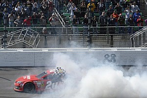 Kansas winning JGR team penalized: failed post-race engine inspection