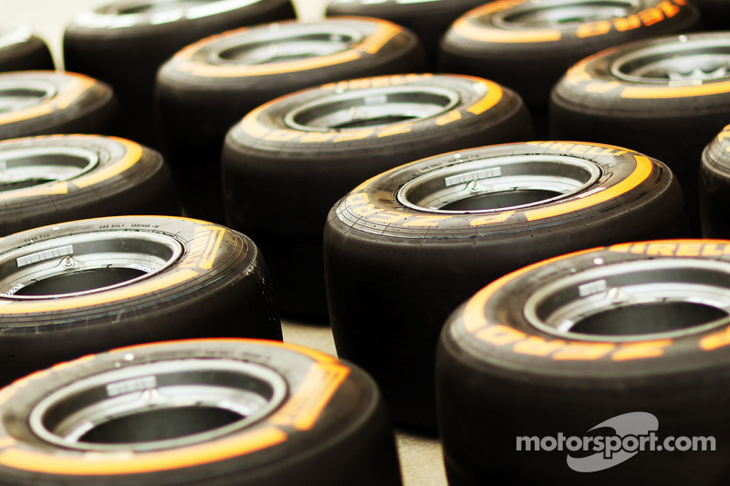 A change for P Zero hard tyre as latest nominations revealed