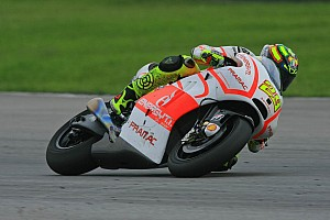 MotoGP Practice report Good start for Pramac Racing Team on practice Friday