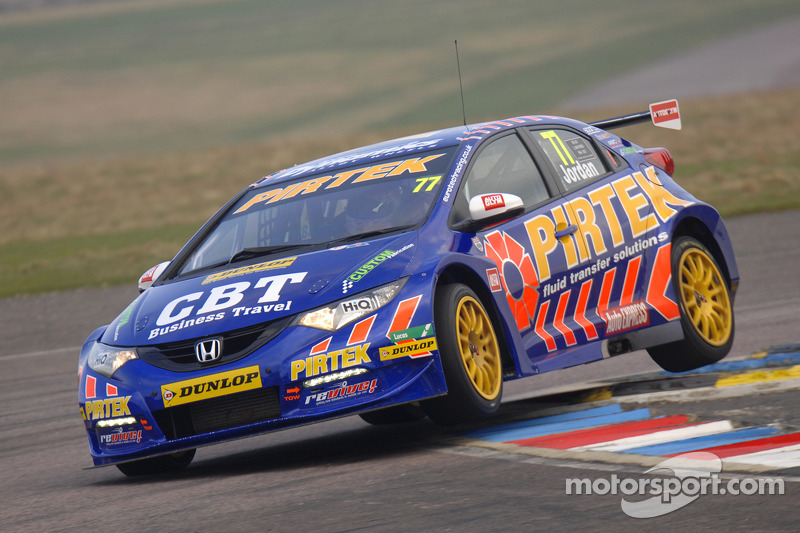 Jordan takes pole for second year running at Thruxton