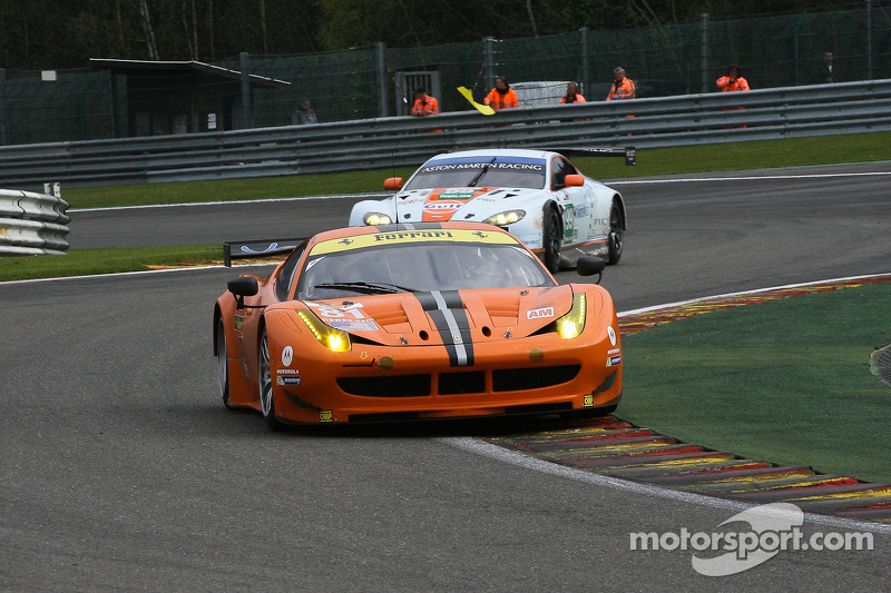 Ferraris won in LMGTE Pro and Am at 6 Hours of Spa-Francorchamps