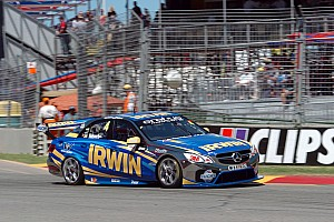 V8 Supercars Race report IRWIN Racing make gains in Perth