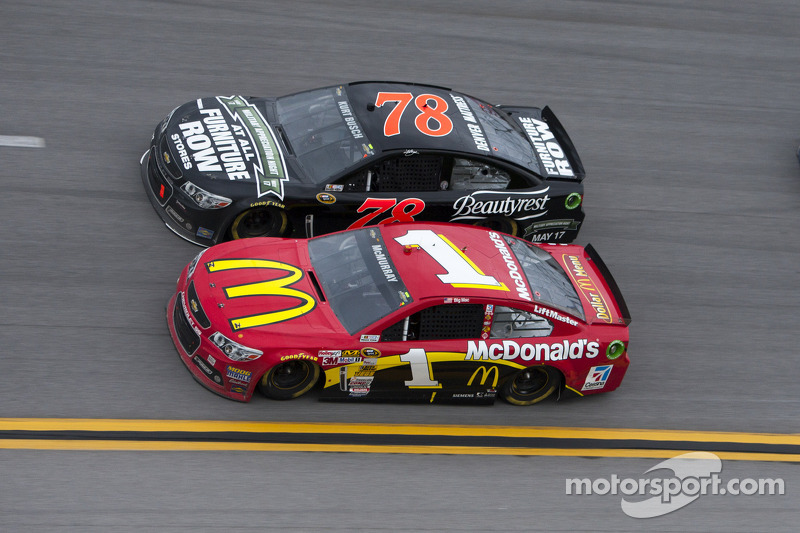It's the 10-year anniversary of the Kurt Busch, Ricky Craven epic Darlington finish