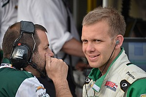 The last Indycar 500-mile race winner Ed Carpenter set for Indianapolis