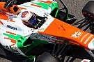 Sahara Force India had tire problems on Friday practice for the Spanish GP