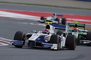 GP2 Race report Triden Racing's Ceccon finished Race 2 in Barcelona in 7th place.