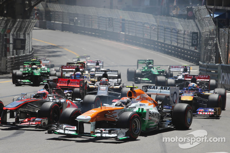 Best Sahara Force India result ever on Monaco GP