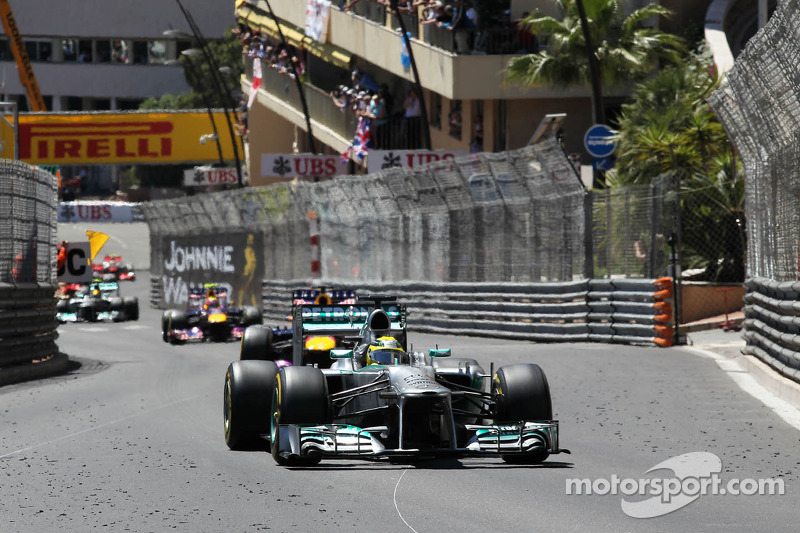 Rosberg wins an action-packed Monaco GP - Pirelli