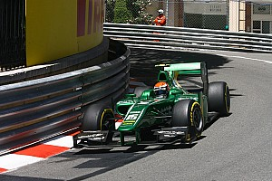 GP2 Race report Rossi spared no luck in Monte Carlo