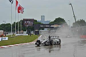 IndyCar Qualifying report Franchitti claims Race 1 pole in Detroit
