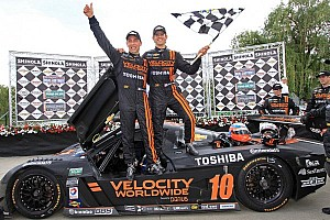 Grand-Am Race report Angelelli and Taylor score second Detroit victory in a row for Chevrolet