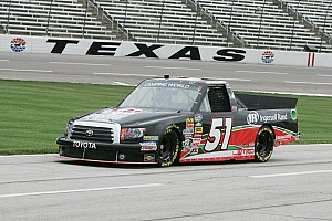 NASCAR Truck Race report Hackenbracht's truck series debut cut short at Texas