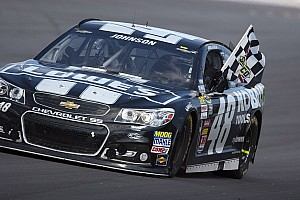 Johnson dominates 400-miler at Pocono