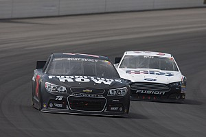 Kurt Busch solid in Pocono, finishes 7th