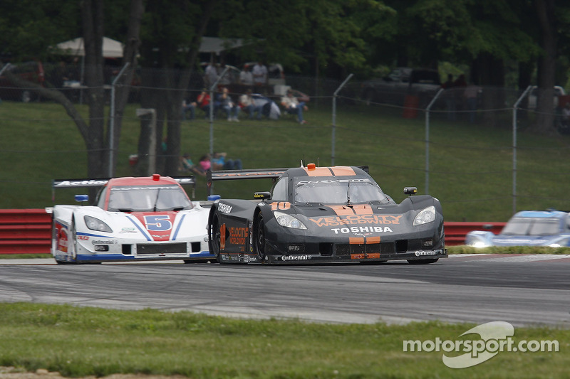 Mid-pack finish at Mid-Ohio for Wayne Taylor Racing