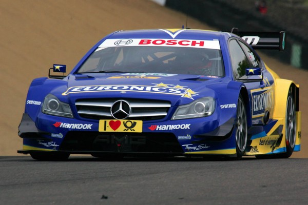 Paffett is making Mercedes-Benz happy - victory at Lausitzring