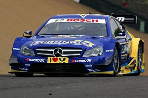 DTM Race report Paffett is making Mercedes-Benz happy - victory at Lausitzring