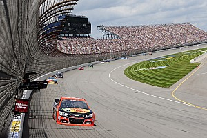 NASCAR Sprint Cup Race report Right place, right time for Stewart at Michigan