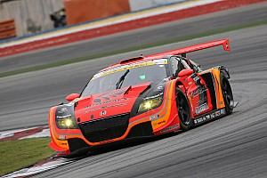Super GT Race report First win for Honda Zytek ERS at Sepang