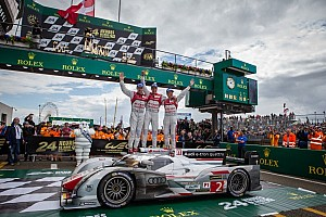Le Mans Breaking news Audi takes home 12th 24 Hour of Le Mans Win
