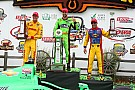 KVRT's Kanaan has fantastic race finishing third in Iowa