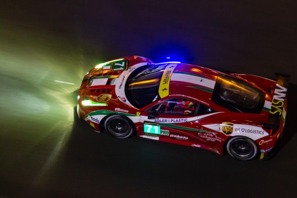 Ferrari Corse Clienti's Antonello Coletta on the AF Corse entry for the Asian Le Mans Series