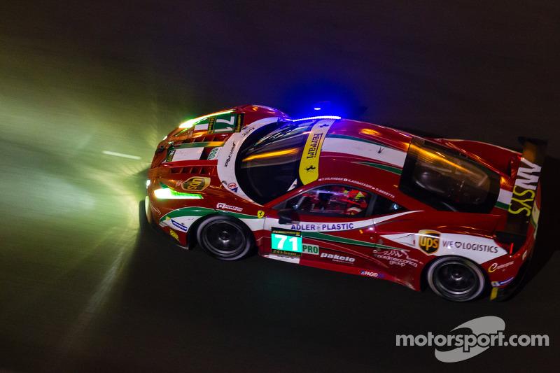 Ferrari Corse Clienti's Antonello Coletta on the AF Corse entry for the Asian Le Mans Series