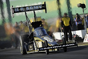 NHRA Qualifying report Force, Schumacher, Edwards and Pollacheck lead first day of Route 66 Nationals qualifying