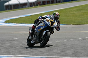 BMW Motorrad GoldBet SBK Team after Superpole at Imola