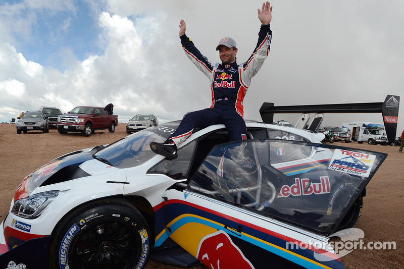 Loeb sets new Pikes Peak course record