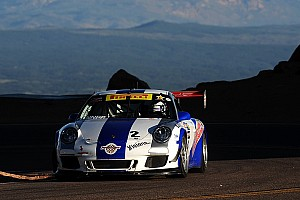 Hillclimb Race report Porsche 911 GT3 Cup racers second and third at Pikes Peak