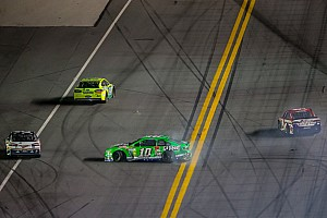 NASCAR Sprint Cup Race report Patrick finishes 14th in Daytona 400