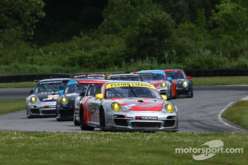 Flying Lizard Motorsports completes Northeast Grand Prix