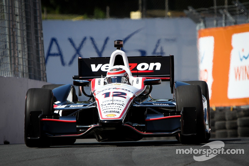 Power qualifies 3rd and Castroneves 8th for Team Penske in first of two races in Toronto