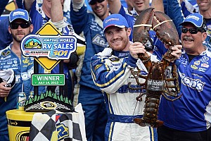 NASCAR Sprint Cup Breaking news Vickers breaks winless streak with the victory at New Hampshire
