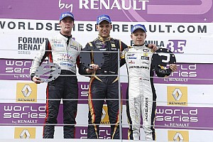 Formula 3.5 Race report Marco Sorensen wins race one in Austria