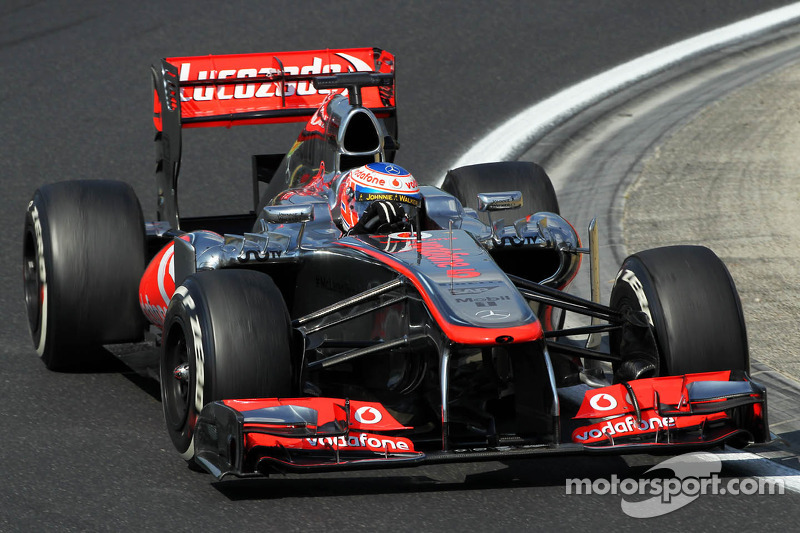 High temperatures afected McLaren's Friday practice at Hungaroring