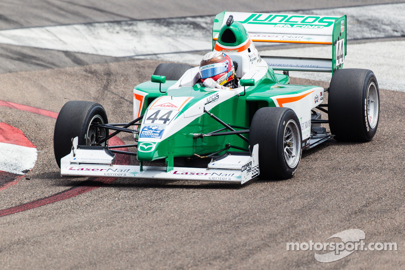 Bryan Herta Autosport tests Scott Anderson in Indy Lights car