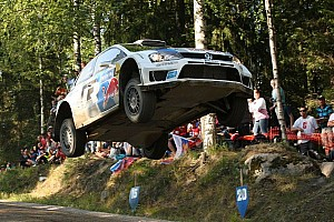 WRC Leg report Ogier takes 38sec lead into Rally Finland finale